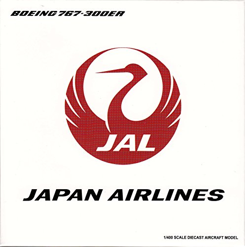 JCW4720 1:400 JC Wings Japan Airlines Boeing 767-300ER Reg #JA610J