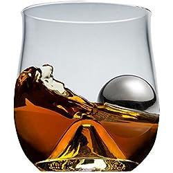 Worldly Whiskey Rock Glass Set