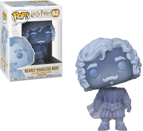 Funko Pop: Harry Potter-Nearly Headless Nick , Multicolor