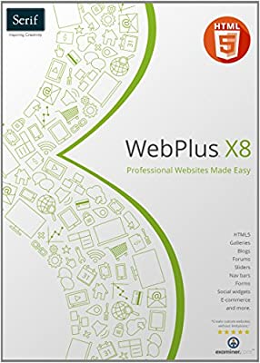 US Serif Software WebPlus X8