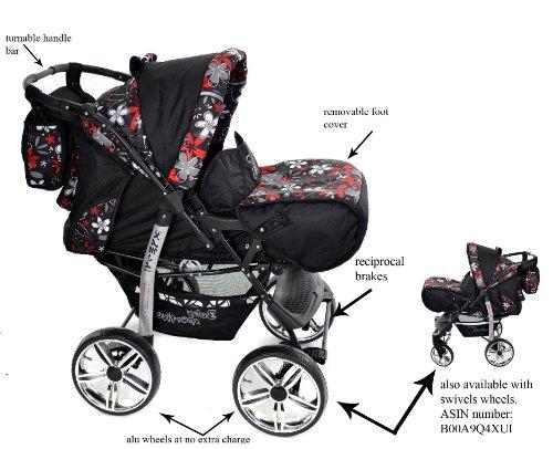 Baby sportive   sistema da viaggio 3 in 1 (carrozzina, seggiolino ...