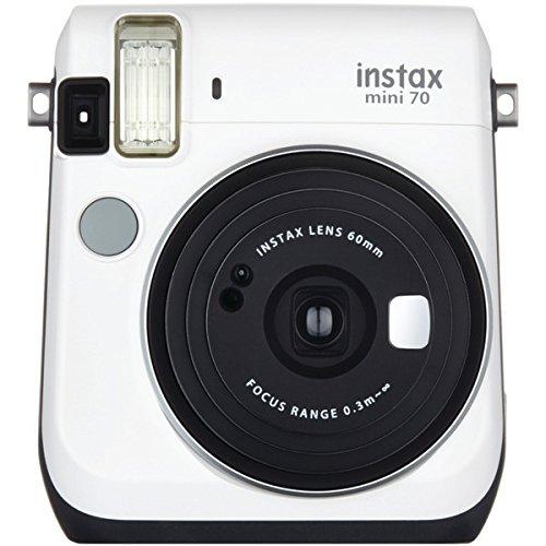 Fujifilm 16496043 Instax ( R ) Mini 70インスタントカメラ(ホワイト)   B01MRFUK15