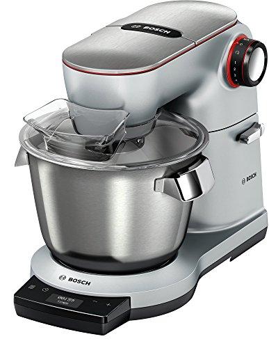 Bosch 1.5 kg Optimum Kitchen Machine, 1500 Watt, Platinum, Silver, MUM9GX5S21