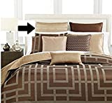 HOTEL COLLECTION - Savoy Taupe Quilted Euro Pillowsham