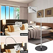 MWGears air234 Height Adjustable 360 Degree Rotating Floor Stand for Tablets, Black