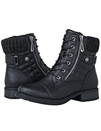 Globalwin Women's 1821 Black Fashion Boots 9.5M