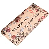 Multi-sized Animal Cartoon Area Door Mat Runner Non-slip Floor Rug LivebyCare Doormat Decorative Entry Carpet Decor Front Entrance Indoor Outdoor Mats for Inside Outside Aisle Passage Porch