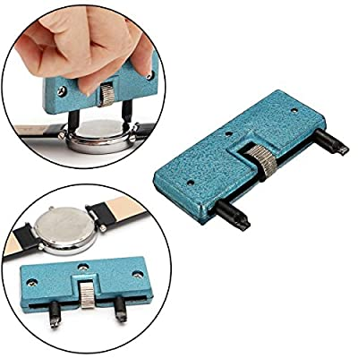 Watch Back Remover Tool, Watch Adjustable Opener Back Case Press Closer Remover Repair Watchmaker Tool by RUISTENG