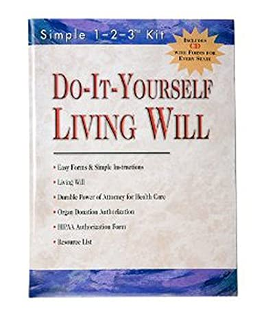 Amazon.com: Do-It-Yourself Living Will Kit-Includes CD with Forms ...