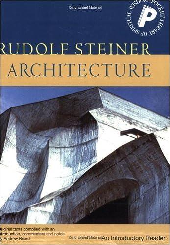 Book Architecture by Steiner, Rudolf. (Rudolph Steiner Pr,2004)