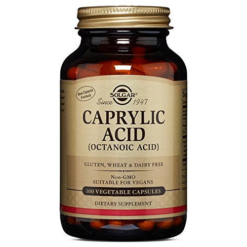 Solgar Caprylic Acid Tablets, 100 Count