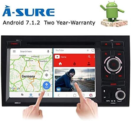 A Sure 7 Android 7 1 Autoradio 4g Lte Obd2 Dab Dvb T2 Wlan Bt Usb Sd