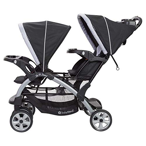 Stand Tandem + Car Seats Travel Stormy