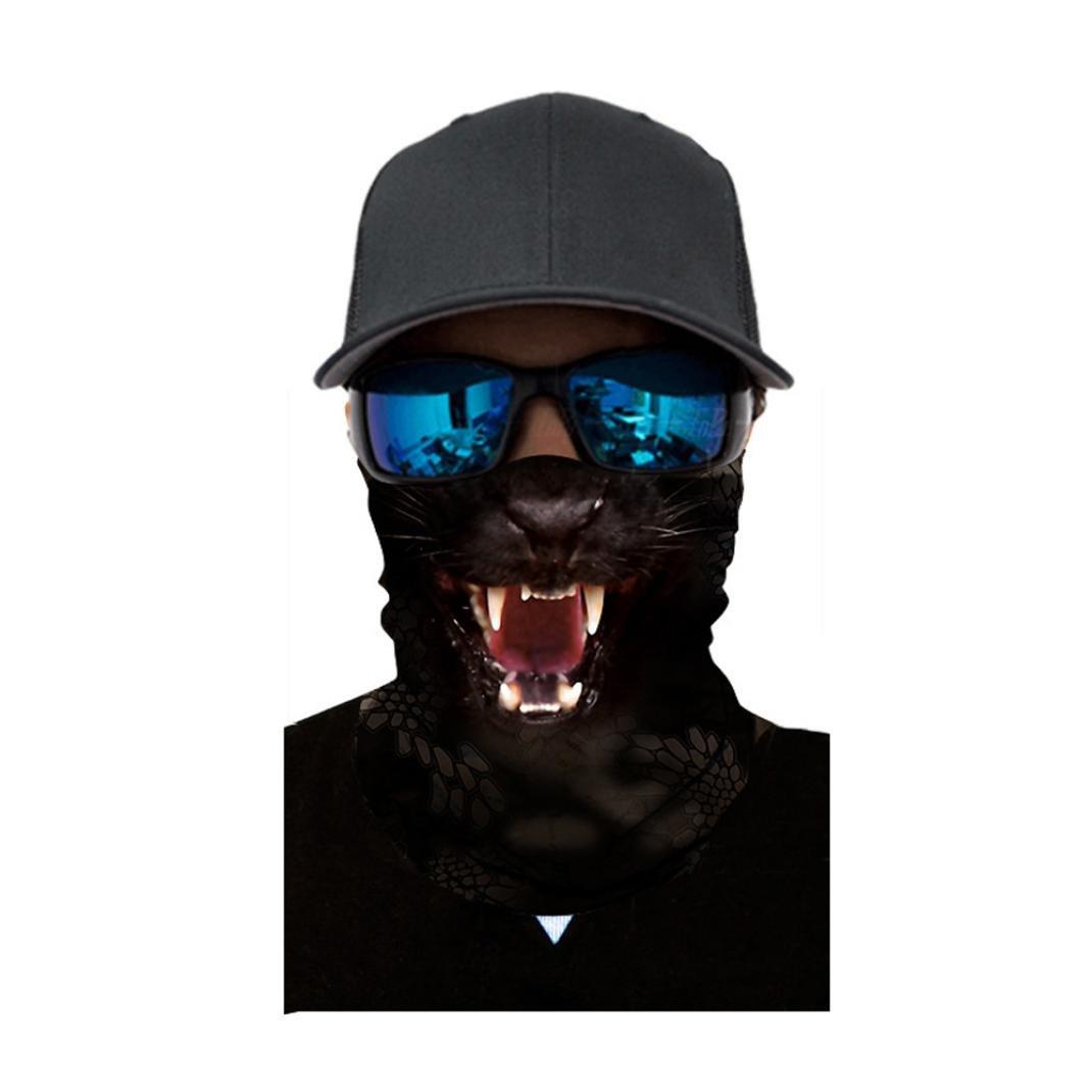 Mamum – Unisex-Halswärmer für Herren und Damen zum Radfahren, Motorradfahren, Kopftuch, Halswärmer, Gesichtsmaske, Ski-Sturmhaube, Stirnband Einheitsgröße a
