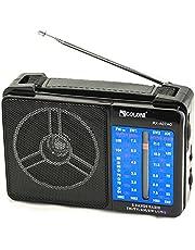 راديو كلاسيكي 4 موجات يعمل بالكهرباء من جولون
