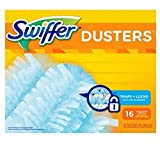 Swiffer 180 Use with Swiffer Dusters short handle or Swiffer Dusters extendable handle Dusters Refills Unscented 16 Count