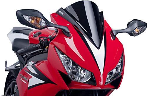 (Puig 17-18 Honda CBR1000RR Racing Windscreen (3mm) (Black))