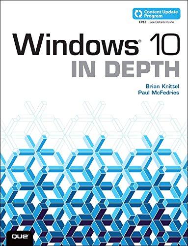 Windows 10 In Depth (includes Content Update Program) (Best Programs For Windows 10)