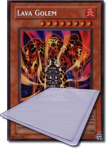 Yu Gi Oh! Single Card(1st Edition):SDMA-EN014 Lava Golem(Ultra Rare) by Greylight Limited ()