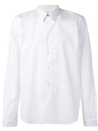 Paul Smith - Camiseta de Manga Larga para Hombre, Color Blanco ...