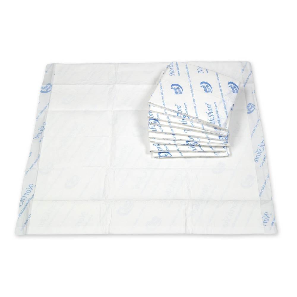 NorthShore MagicSorb, 30 x 36, 60 oz., Disposable Underpads, X-Large, Pack/10