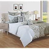 Swayam Sparkle Collection -King Fitted DBS 1 Fitted Sheet -11001