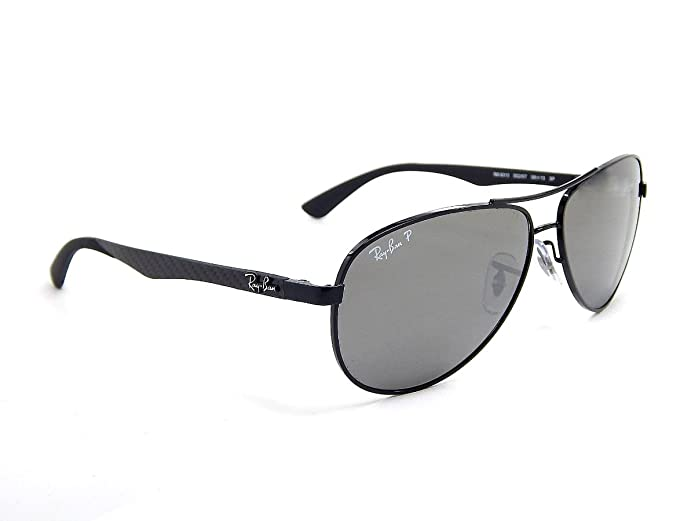 Amazon.com: New Ray Ban Rb8313 002/K7 de fibra de carbono ...