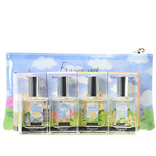 (Fragonard - Fragonard Femme Paris Gift Set of 4 Natural Eaux de Toilette - Multi Coloured )