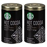 Starbucks 30oz Classic Hot Cocoa Tin, Pack of 2