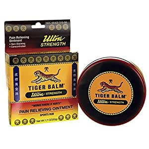 Tiger Balm Sport Rub Pain Relieving Ointment, Ultra Strength 1.70 oz