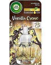 AirWick navulling voor elektrische diffusers - Vanilla Cream - verpakking van 3 (3 x 19 ml)