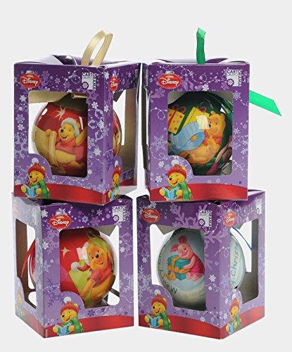 Kit 4 palline in Confezione regalo Winnie the Pooh TocTocshop