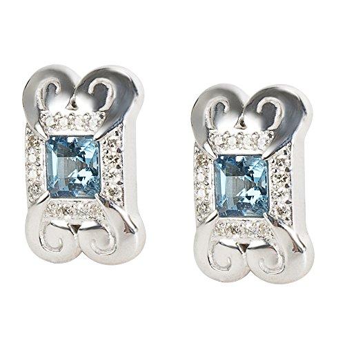 Gurhan Yellow Earrings - Gurhan '2014 Spring' Earrings with Blue Topaz in Sterling Silver MSRP 1625