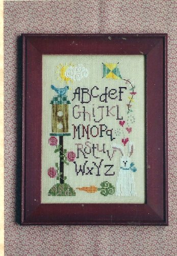 Spring Sampler Counted Cross Stitch Pattern (Moon Designs Stitch Counted Cross)