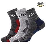 Set of 3 Men's Hiking Camping Trekking Socks,Quick Drying Full Thickness...
