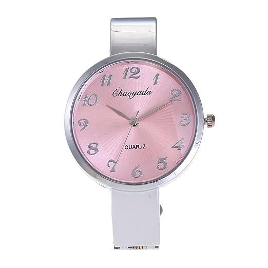 SJXIN Reloj Elegante Reloj Creativo de Las Mujeres del Reloj de Moda Reloj Creativo Pulsera Comercial Reloj Explosivo Relojes de Moda (Color : 1): ...