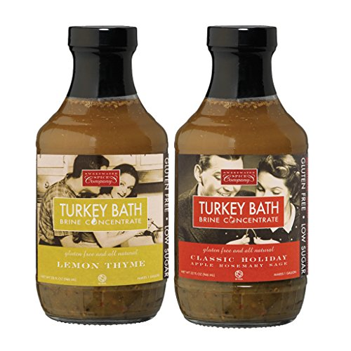 TURKEY BATH Brine Combo Four Pack by Sweetwater Spice Co