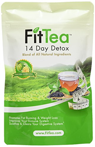 Fit Tea 14 Day Detox Herbal Weight Loss Tea- Natural Weight Loss,...