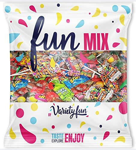 Premium Party Candy Bag Assortment Bulk Value by Variety Fun (4.5 lb/ 72 oz)
