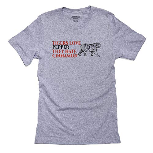 Hollywood Thread Tigers Love Pepper They Hate Cinnamon Men's T-Shirt