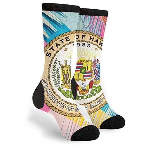 - NALANcy Seal Of The State Of Hawaii Fashion Men's Socks Casual Business Socks