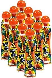 Dab-O-Ink One Dozen 3oz Orange Bingo Dauber