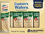 Lance Cream on Captain Wafers Sandwich Crackers, Cheese and Chive, 11 oz