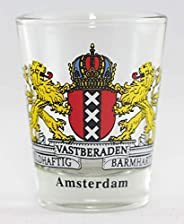 Amsterdam Netherlands Coat of Arms Shot Glass
