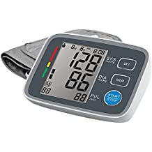 VALLENN Upper Arm Blood Pressure Monitor Automatic Digital Blood Pressure Cuff Machine One Size Fits All Cuff, Easy to Read and Calculation Accuracy - FDA Approved [2018 NEW VERSION] (U80EH)