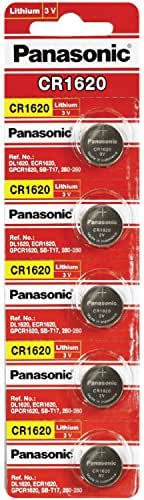 Panasonic CR1620 3 Volt Lithium Coin Battery (Pack of 100)
