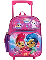 Nickelodeon Shimmer and Shine Toddler 12 Rolling backpack