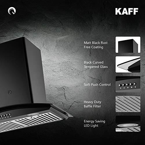 KAFF-60cm-FAB-BF-60-Heavy-Duty-Baffle-Filter-Black-Curved-Tempered-Glass-Soft-Push-Buttons-Matt-Black-Rust-Free-Coating