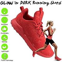 Soulsfeng Running Shoes For Women Men, Flyknit Fashion Sneakers Men Women, Lightweight Foam Cushion Trail Wide Men's Shoes For Boys Girls Ladies Youth