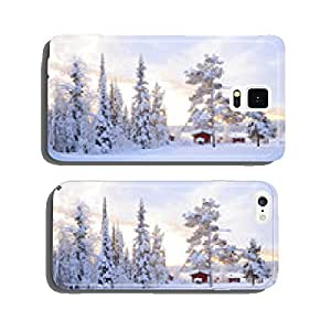 Winter landscape cell phone cover case iPhone6